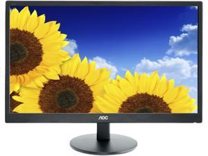 """AOC E2470SWDA 23.6"""" 5ms Widescreen LED Backlight LCD Monitor"""