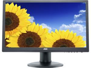 """AOC I2260PWHU Black 21.5"""" 5ms LCD Monitor"""