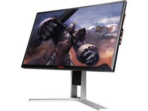 "AOC AG271QX 27"" Black/Red TN Gaming Monitor, 2560 x 1440, 1ms GTG, 1000:1, 350cd/m2, 170/160 Viewing Angle, D-Sub&DVI&HDMI Display Ports"