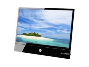 "HP Elite Smartbuy L2201x Silver and Jack Black 21.5"" 16ms Widescreen LED Backlit LCD Monitor"