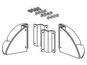 ERGOTRON 60-366-100 Bracket Mounting Component