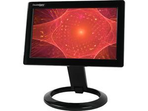 "DoubleSight DS-90U Black 8.9"" 30ms Height,Pivot & Tilt Adjustable USB LCD Monitor w/USB 2.0"