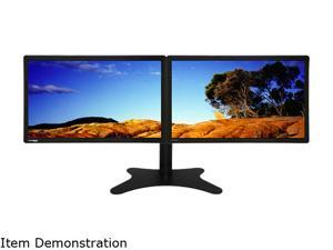 "DoubleSight DS-2200WA-C Black 21.5"" 5ms (GTG) Widescreen LED Backlight Dual LCD Monitors Built-in Speakers"