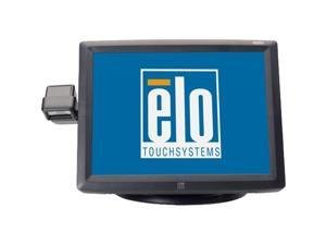 """ELO TOUCHSYSTEMS E733714 Dark gray 15"""" USB hub 5-wire Resistive Touchscreen Monitor Built-in Speakers"""