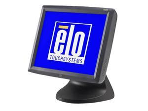 "ELO TOUCHSYSTEMS 1529L Dark gray 15"" Serial/USB 5-wire Resistive LCD Desktop Touchmonitor Built-in Speakers"