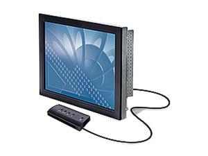 """3M CT150(11-71315-227-01) Black 15"""" Serial with Slimline Bezel Capacitive Touchscreen Monitor"""