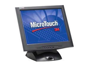 "3M M1700SS(11-91378-227) Black 17"" Capacitive Touchscreen Monitor"