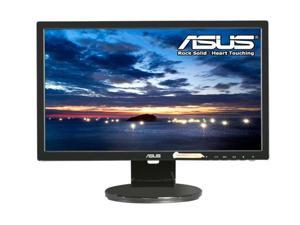 "ASUS VE Series VE208T Black 20"" LED Backlight Widescreen LCD Monitor w/Speakers"