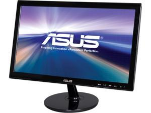 "ASUS VS197T-P Black 18.5"" 5ms Widescreen LED Backlight LCD Monitor"