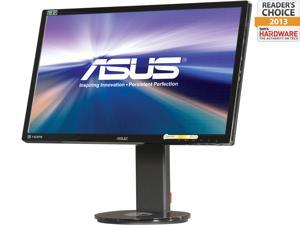 "ASUS VG248QE Black 24"" Gaming Monitor, 144 Hz 1ms (GTG), 3D Monitor, Height & pivot adjustable, 350 cd/m2, Built-in Speakers"