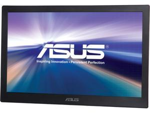 "ASUS MB168B+ Silver / Black 15.6"" 11ms Widescreen LED Backlight Portable USB-powered LCD Monitor"