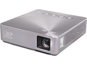 ASUS S1 854x480 WVGA 200 Lumens HDMI & MHL Inputs w/ Carrying Bag Short Throw Portable LED Projector