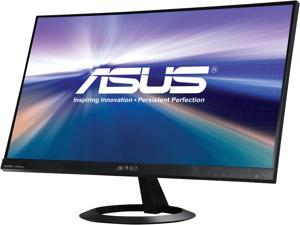 "ASUS VX24AH Black 23.8"" 5ms (GTG) IPS Frameless Widescreen LCD/LED Monitor, 300 cd/m2 DCR 10,000,000:1, Dual Built-in Speakers, HDMI/MHL  D-Sub"