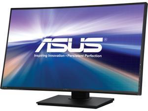 "ASUS PB328Q Black 32"" 4ms WQHD narrow-bezel  LED Backlight LCD Monitor 300 cd/m2 100,000,000:1, 100% sRGB , Height & Pivot adjustable, built-in speakers"