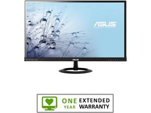 "ASUS VX279Q Black 27"" 5ms (GTG) HDMI Widescreen LED Backlight LCD Monitor AH-IPS With 90 Days from Asus + 1 Year Extended Warranty from MTC"