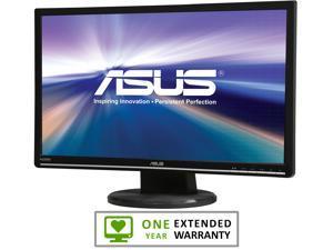 "ASUS VW246H-12 Glossy Black 24"" 2ms(GTG) HDMI Widescreen LCD Monitor"