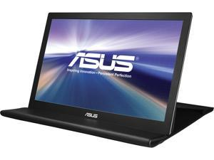 "ASUS MB169B+ Silver/Black 15.6"" 16:9 Widescreen LED Backlight Full HD Portable USB3.0 USB-powered IPS Portable Monitor 200 cd/m2 700:1"