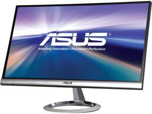 "ASUS MX239H Silver / Black 23"" 5ms (GTG) HDMI Widescreen LED Backlight LCD Monitor, IPS Panel"
