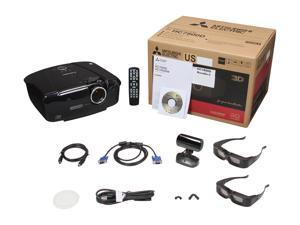 MITSUBISHI HC7800D BUNDLE C DLP Home Theater Projector with 2 pairs of Mitsubishi 3D glasses
