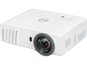 Dell S320WI 1024 x 768 XGA 3000 ANSI Lumens HDMI & USB Inputs w/ Interactive Projector Pen, 3D Ready Short Throw DLP Projector