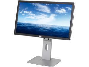 "Dell P2014H Black 19.5"" 8ms(GTG) IPS Widescreen LED Backlight LCD Monitor, 250 cd/m2 DC 2,000,000:1 (1,000:1), VESA Mountable, DVI-D/VGA/DP/USB 2.0"