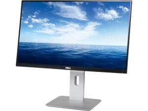 "Dell UltraSharp U2414H Black 23.8"" 8ms (GTG) HDMI Widescreen LED Backlight Height, Pivot, Swivel, Tilt LCD Monitor IPS"