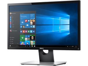 "Dell SE2216HV Black 22"" 1920 x 1080 60 HZ LCD Monitor with Tilt Adjustment, 250 cd/m2 DCR 8,000,000:1 (3000:1), D-Sub"