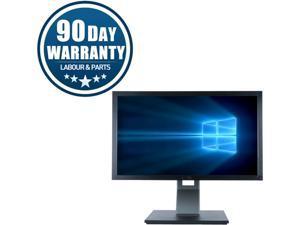 "Refurbished Dell P2411H, 24"" LED, 1920 X 1080, 1 x VGA, 1 x DVI, 2 x USB, 90 Days Warranty"