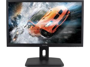 "Nixeus NX-VUE24A Black 24"" 1ms 144Hz (GTG) HDMI Widescreen Adaptive-Sync (Free-Sync) Monitor with Speaker"