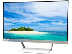 "HP Pavilion 25xw Silver White 25"" IPS 7ms (GTG) Ultra-Wide Frameless LCD/LED Monitor with HP Low Haze Anti-Glare Treatment and Versatile Viewing"