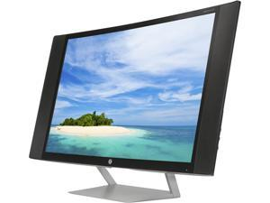 """HP Pavilion 27c Black 27"""" VA 8ms (GTG) Curved LCD/LED Monitor, 300 cd/m2 DCR 10,000,000:1 (3000:1), Built-in Speakers with DTS Audio Technology, Control Simplicity and Open-Wedge Designed Stand, VGA"""