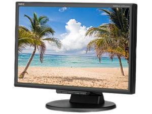 """NEC 195WXM-BK (NE7-0002) 19"""" LCD Monitor"""