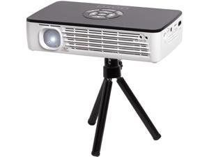 AAXA P700 Micro LED Projector, 1280x800 HD Native Resolution, 650 Lumens, Onboard Battery, 15,000 Hour LED, Media Player, DLP