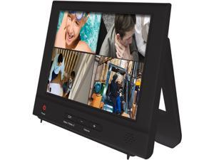 "Night Owl NO-8LCD 8"" LCD Security Monitor with Audio- connects directly to your Cameras or DVR (2 channels)"