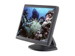 "ELO TOUCHSYSTEMS 1515L Dark Gray 15"" USB Projected Capacitive Touchscreen Monitor"