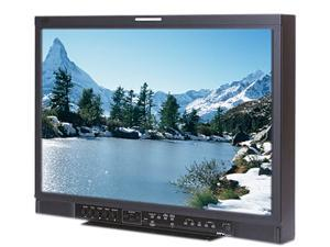 "JVC Professional Verite R-Series DT-R24L4DU Black 24"" Widescreen LCD Studio Monitor w/HDSDI Built-in Speakers"
