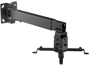 inland 5439 Universal Wall and Ceiling Projector Mounting Bracket Black