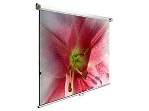 "Elite Screens Manual M120V Manual Projection Screen - 120"" - 4:3 - Wall/Ceiling Mount"