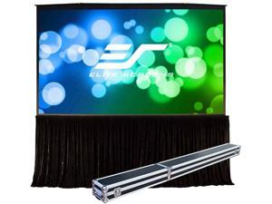 """Elite Screens QuickStand 5-Second QS163VD Projection Screen - 163"""" - 4:3 - Surface Mount"""