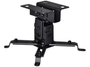 OSD Audio TSMPRB2 Tilt and Swivel Ceiling Mount for Projectors, Supports up to 44 lbs