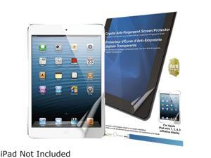 Green Onions Supply Crystal Anti-Fingerprint Screen Protector for Apple iPad mini