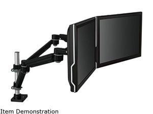 3M MA260MB Black Easy-Adjust Dual Monitor Arm