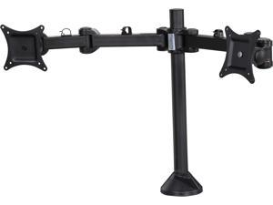 "SIIG CE-MT0Q11-S1 Articulating Dual Monitor Desk Mount - 13"" to 27"""