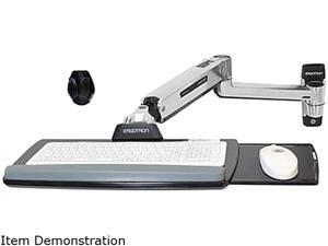 Ergotron 45-354-026 LX Sit-Stand Wall Mount Keyboard Arm