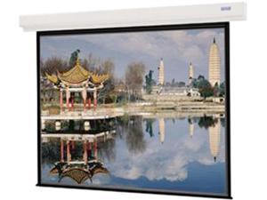 "DA-LITE 89718 Designer Contour Electrol Screen - 70 x 70"" - 99"" Diagonal - Square Format - Matte White"
