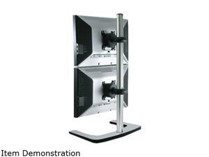 Atdec Visidec VFS-DV-TAA Double Freestanding Vertical Freestanding Desk Mount