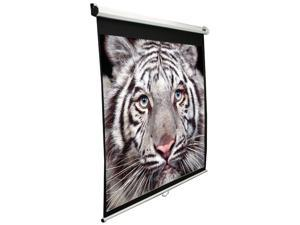 "Elitescreens 136"" Standard(1:1) Manual Manual Ceiling/Wall Mount Manual Pull Down Projection Screen (136"" 1:1 AR) (MaxWhite)"