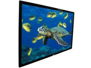 "EliteSCREENS R100WV1 100"" 4:3 Anodized Black NTSC Format Projection Screen"