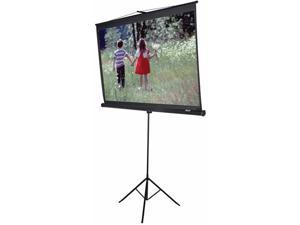 "EliteSCREENS T120UWV1 Tripod Portable Tripod Manual Pull Up Projection Screen (120"" 4:3 AR) (MaxWhite)"