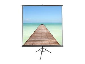 "EliteSCREENS T60UWH Tripod Portable Tripod Manual Pull Up Projection Screen (60"" 16:9 AR) (MaxWhite)"